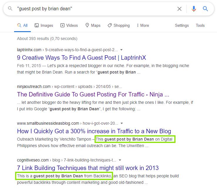 Rechercher des sites web utilisés par des blogueurs influents